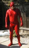 Man dressed as Daredevil