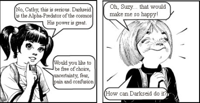 darkseid is!