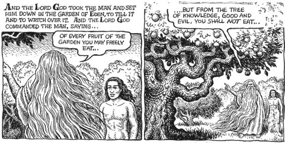The Book of Genesis and R Crumb are a perfect marriage.
