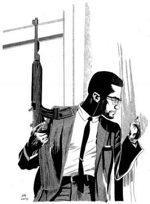 Dave Sim's Malcolm X…