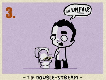 9 Ways Guys Wee - The Double Stream