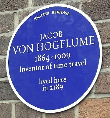 Jacob Von Hogflume Blue Plaque