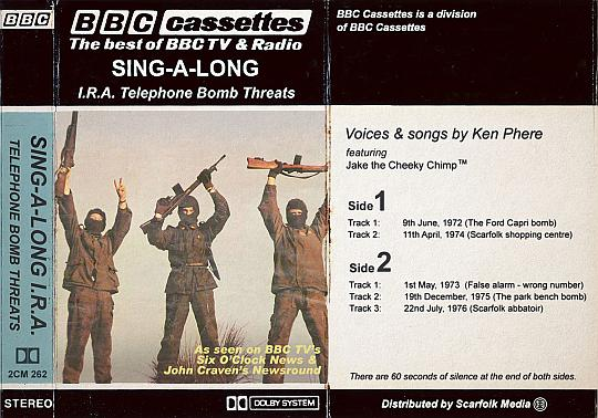Sing-A-Long IRA Telephone Bomb Threats