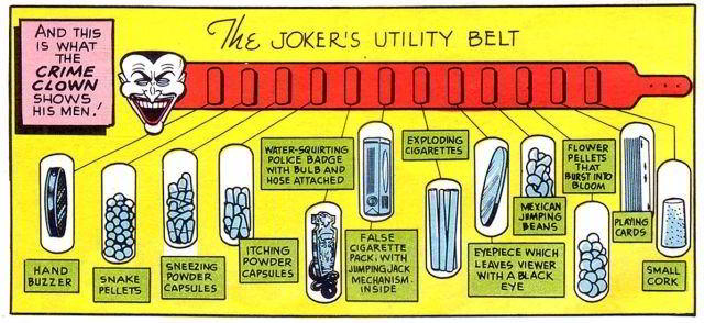 The Joker's Utility Belt